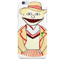 Fifth Doctor Muppet Style iPhone Case/Skin