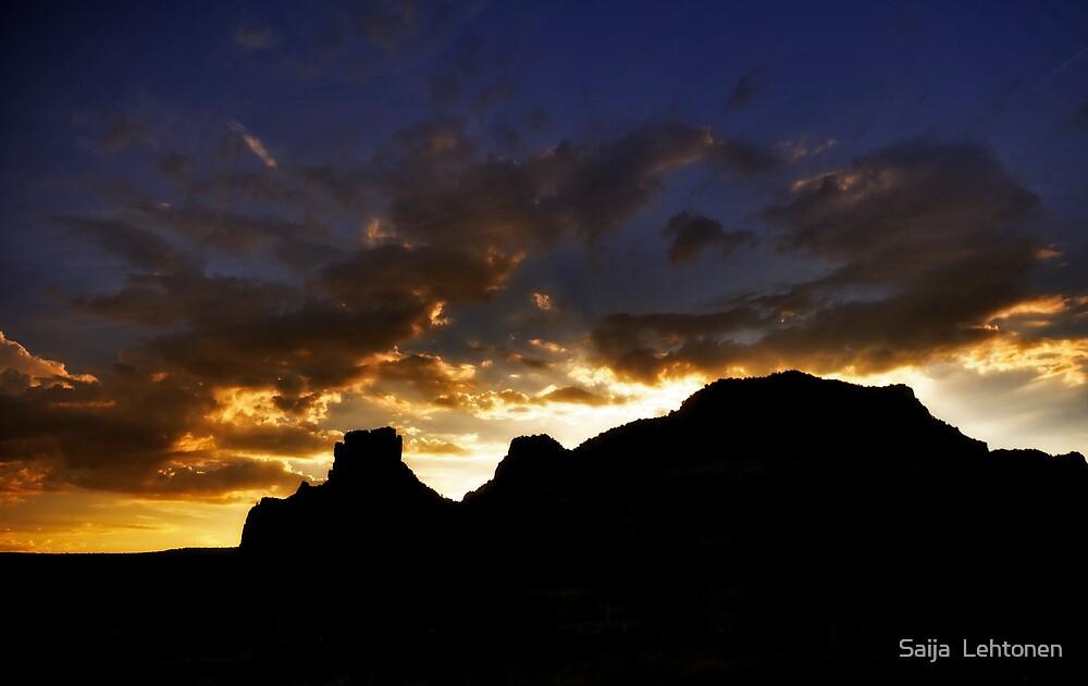 Sedona Sunset  by Saija  Lehtonen