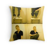 Punk dies when I say so Throw Pillow