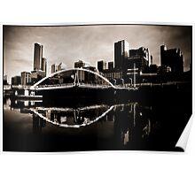 Melbourne, Yarra Crossing Poster