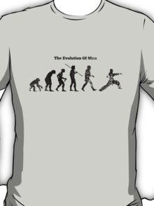 Evolution of Man - Martial Arts - Light [G] T-Shirt