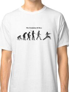 Evolution of Man - Martial Arts - Light [G] Classic T-Shirt
