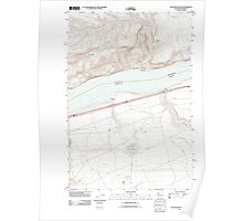 USGS Topo Map Washington Golgotha Butte 20110912 TM Poster