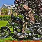 Elvis's Harley Davidson -  1956   -   Easy Rider -  Book story of my life . by Brown Sugar . Include Super Bonus !  The sound of a 1956 Model KHK !  with blessings too ! Views (593) .Fav(2) Thanks ! by © Andrzej Goszcz,M.D. Ph.D