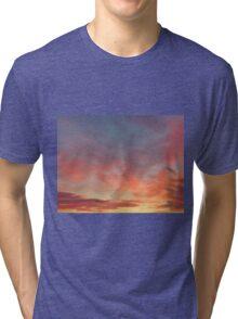 Sky Painting Tri-blend T-Shirt