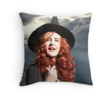 Boil, boil, toil and trouble! Throw Pillow