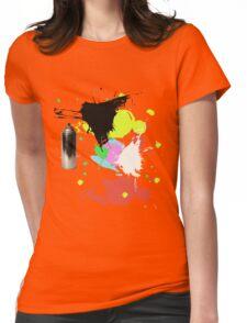 Graffiti Art Womens Fitted T-Shirt