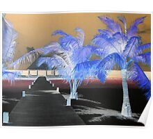 Tropical Island Dreams Poster