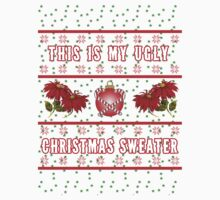 Ugly Christmas Sweater  Baby Tee