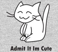 Admit it in Cute One Piece - Short Sleeve