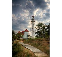 Rawley Point Lighthouse Photographic Print