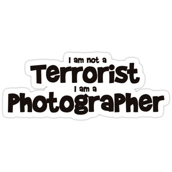 Terrorist Photographer by Martin Pot
