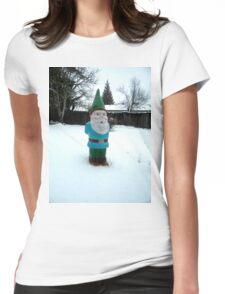 Snow Day Sam Womens Fitted T-Shirt