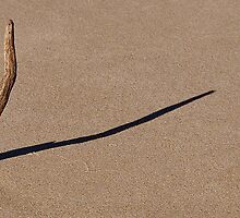 Sun Dial in the Sand by Stuart Cox