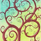 Happy Tree by Michelle Clifton