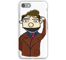 Tenth Doctor Muppet Style iPhone Case/Skin