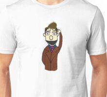 Tenth Doctor Muppet Style Unisex T-Shirt