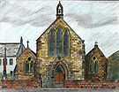 68 - ST. CUTHBERT'S R.C. CHURCH, COWPEN - DAVE EDWARDS - INK & COLOURED PENCILS - 1997 by BLYTHART