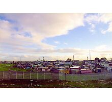 Shanty Town  Photographic Print