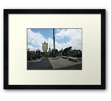 The Mount Fortress Framed Print