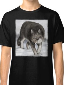 Wolf in the snow Classic T-Shirt