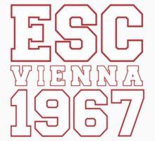 ESC Vienna 1967 [Eurovision] Kids Tee