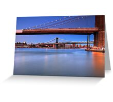 The Two Bridges Greeting Card
