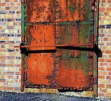 Rusty Door by GillBell