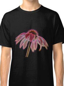 Glowing Echinacea Flower Classic T-Shirt