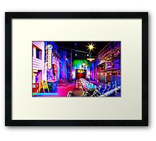 Rock 'n' Roller Coaster Framed Print