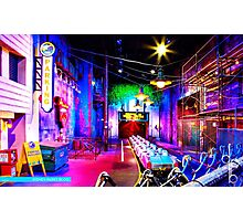 Rock 'n' Roller Coaster Photographic Print