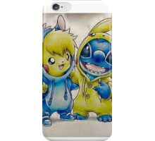 Pika& Stitch iPhone Case/Skin