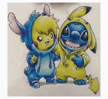Pika& Stitch Kids Clothes