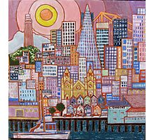 San Francisco Tile Photographic Print