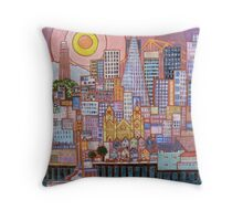 San Francisco Tile Throw Pillow