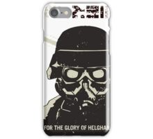 For the glory of helghan! iPhone Case/Skin