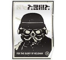 For the glory of helghan! Poster