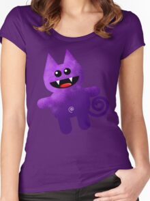 PURPLE KAT Women's Fitted Scoop T-Shirt