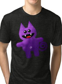 PURPLE KAT Tri-blend T-Shirt