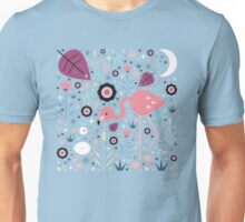 Flamingo & Chick  Unisex T-Shirt