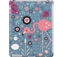 Flamingo & Chick  iPad Case/Skin