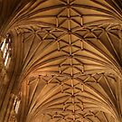 Canterbury Cathedral Nave by John Gaffen