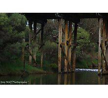 Murray River Bridge - Pinjarra WA Photographic Print