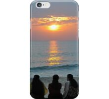 Indian women chatting iPhone Case/Skin