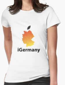 iGermany Womens Fitted T-Shirt