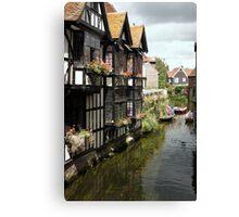 The Weavers, Canterbury Canvas Print