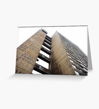 Balfron Tower, Poplar, London Greeting Card