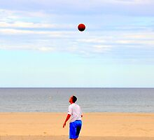 Beach Basketball by Sam Halford