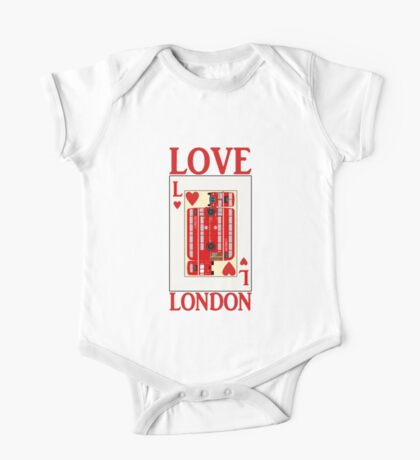 LOVE LONDON One Piece - Short Sleeve