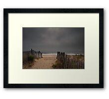 Dewey Beach, Delaware 2011 Framed Print
